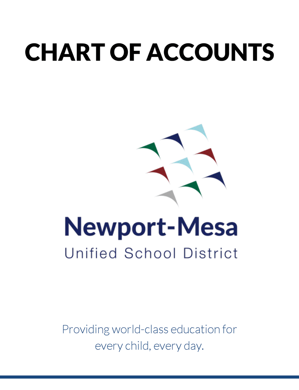 Chart of Accounts - cover image
